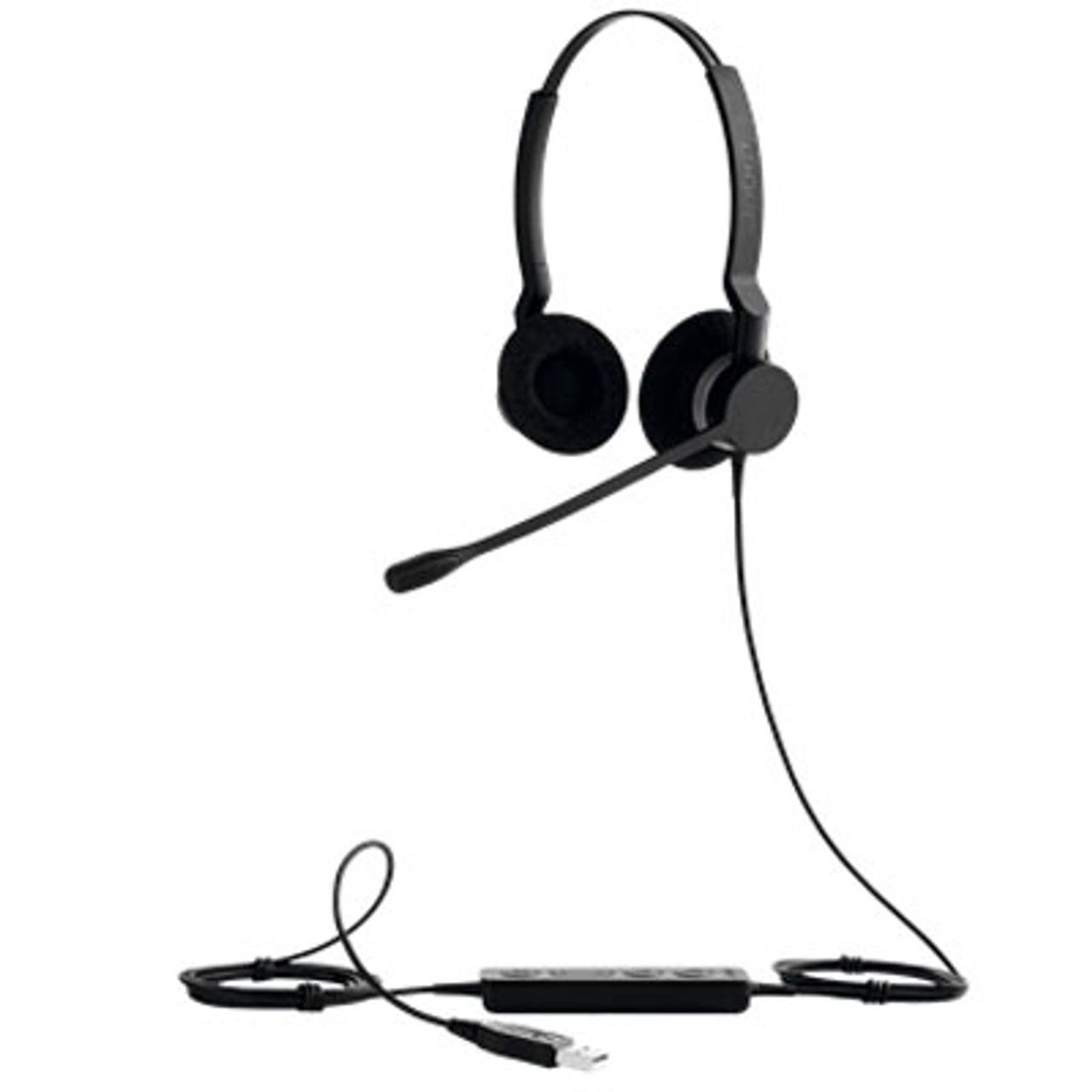 Image for Jabra BIZ 2300 Duo UC USB-A headset CX Computer Superstore