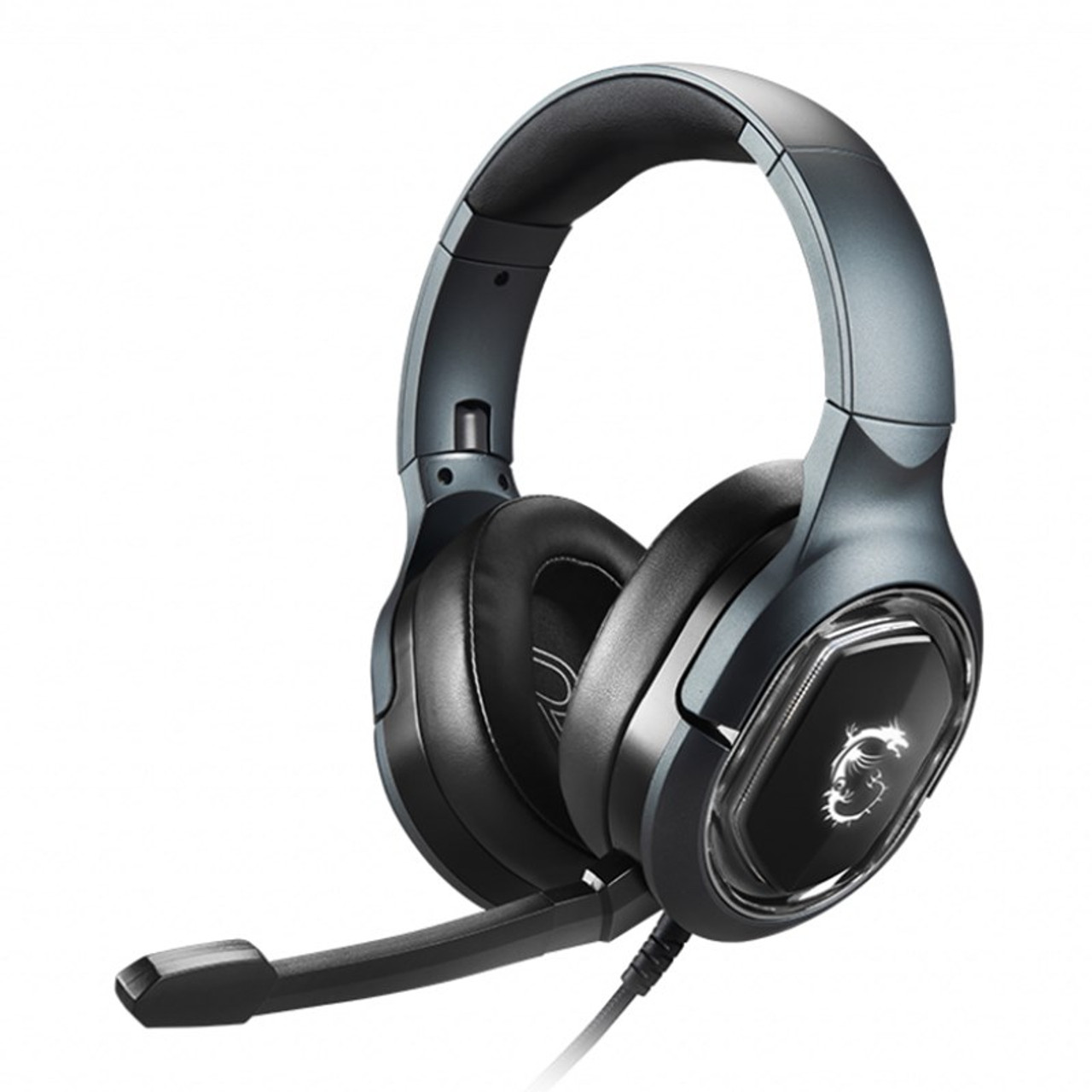 Image for MSI Immerse GH50 Virtual 7.1 USB Gaming Headset CX Computer Superstore