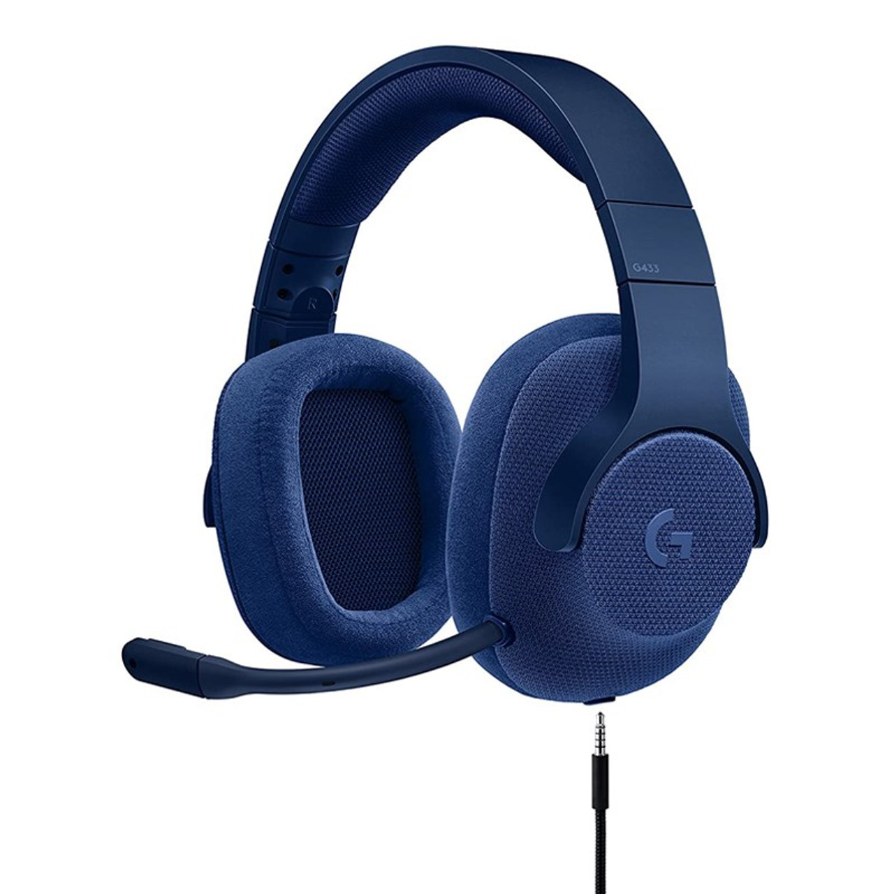 Image for Logitech G433 7.1 Surround Wired Gaming Headset - Blue CX Computer Superstore
