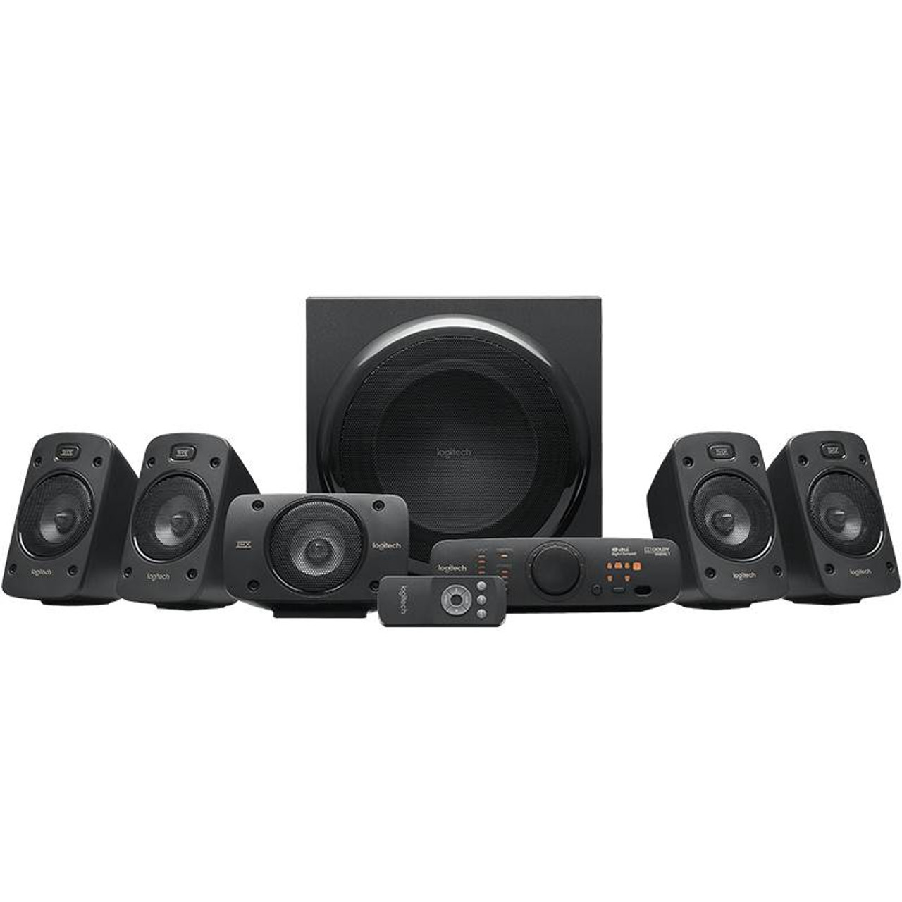 Product image for Logitech Z906 THX 5.1 Speaker System | CX Computer Superstore