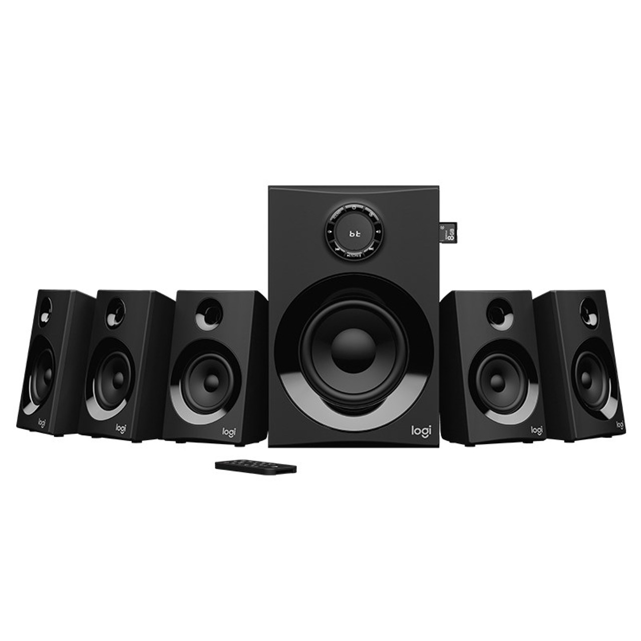 Image for Logitech Z607 5.1 Surround Sound Speaker System with Bluetooth CX Computer Superstore