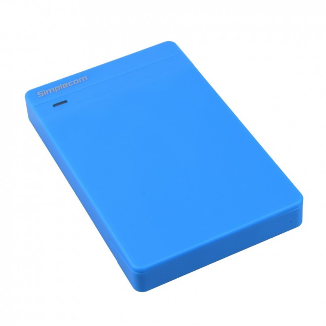 Product image for Simplecom SE203 Tool Free 2.5in SATA HDD SSD to USB 3.0 Drive Box Blue | CX Computer Superstore