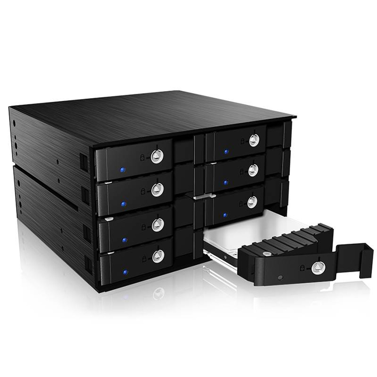 Product image for ICY BOX IB-2280SSK 8-Bay SATA/SAS HDD/SSD Backplane | CX Computer Superstore