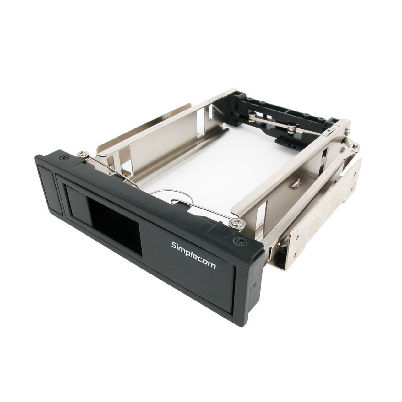 Product image for Simplecom SC314 Internal 5.25in Bay Mobile Rack 3.5in SATA HDD Backplane   CX Computer Superstore