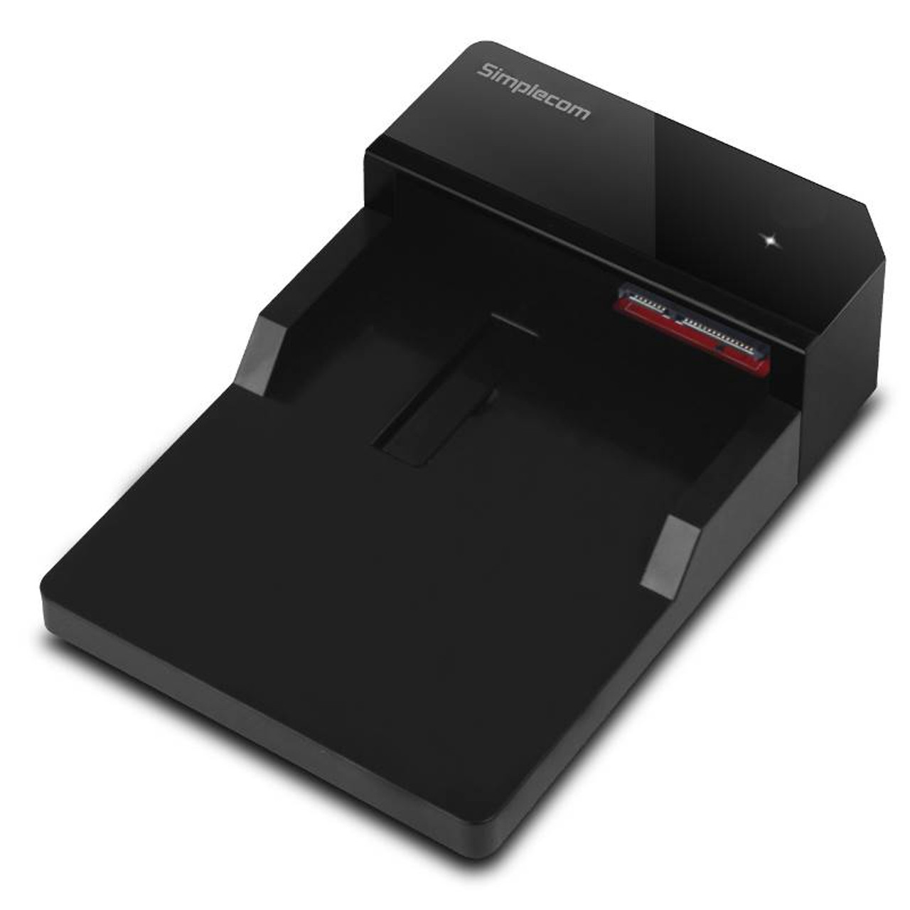 Image for Simplecom SD323-BK USB 3.0 SATA 2.5in/3.5in Hard Drive Docking Station - Black CX Computer Superstore