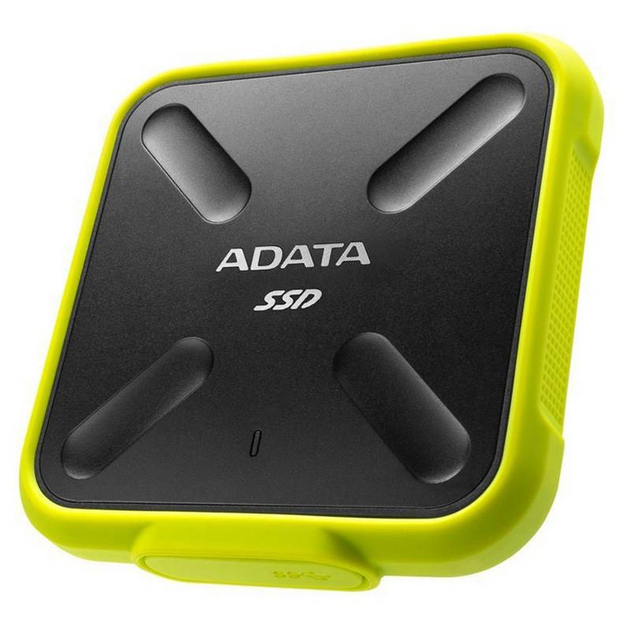 Image for Adata SD700 256GB USB 3.1 Portable External Rugged SSD Hard Drive - Yellow CX Computer Superstore