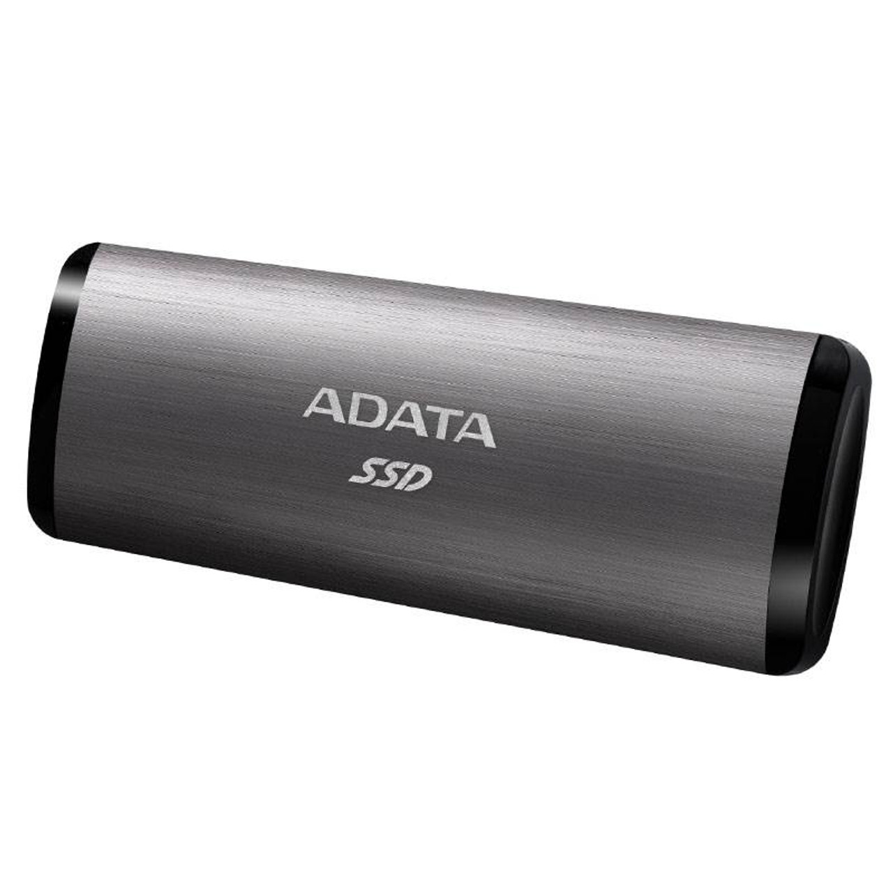 Image for Adata SE760 256GB USB 3.1 Type-C Portable External SSD Hard Drive - Titanium CX Computer Superstore