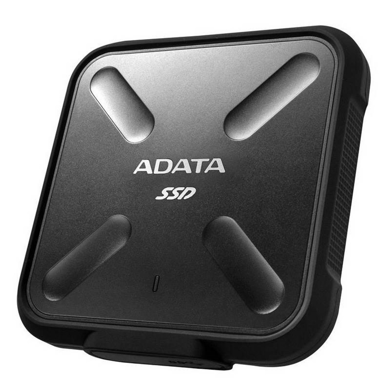 Image for Adata SD700 512GB USB 3.1 Portable External Rugged SSD Hard Drive - Black CX Computer Superstore