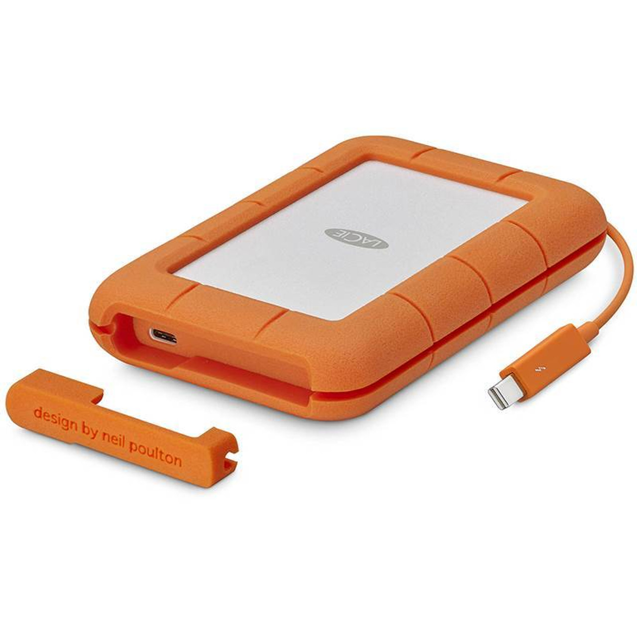 Image for LaCie 500GB SSD Rugged Thunderbolt & USB-C Portable External Hard Drive CX Computer Superstore