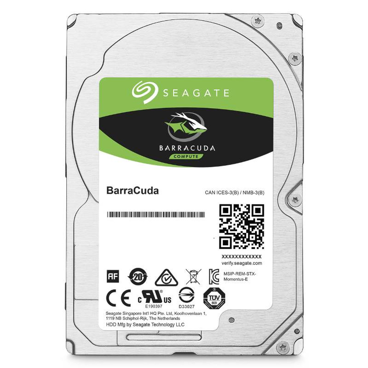 Image for Seagate ST4000LM024 4TB BarraCuda 2.5in 15mm SATA3 5400RPM Laptop Hard Drive CX Computer Superstore