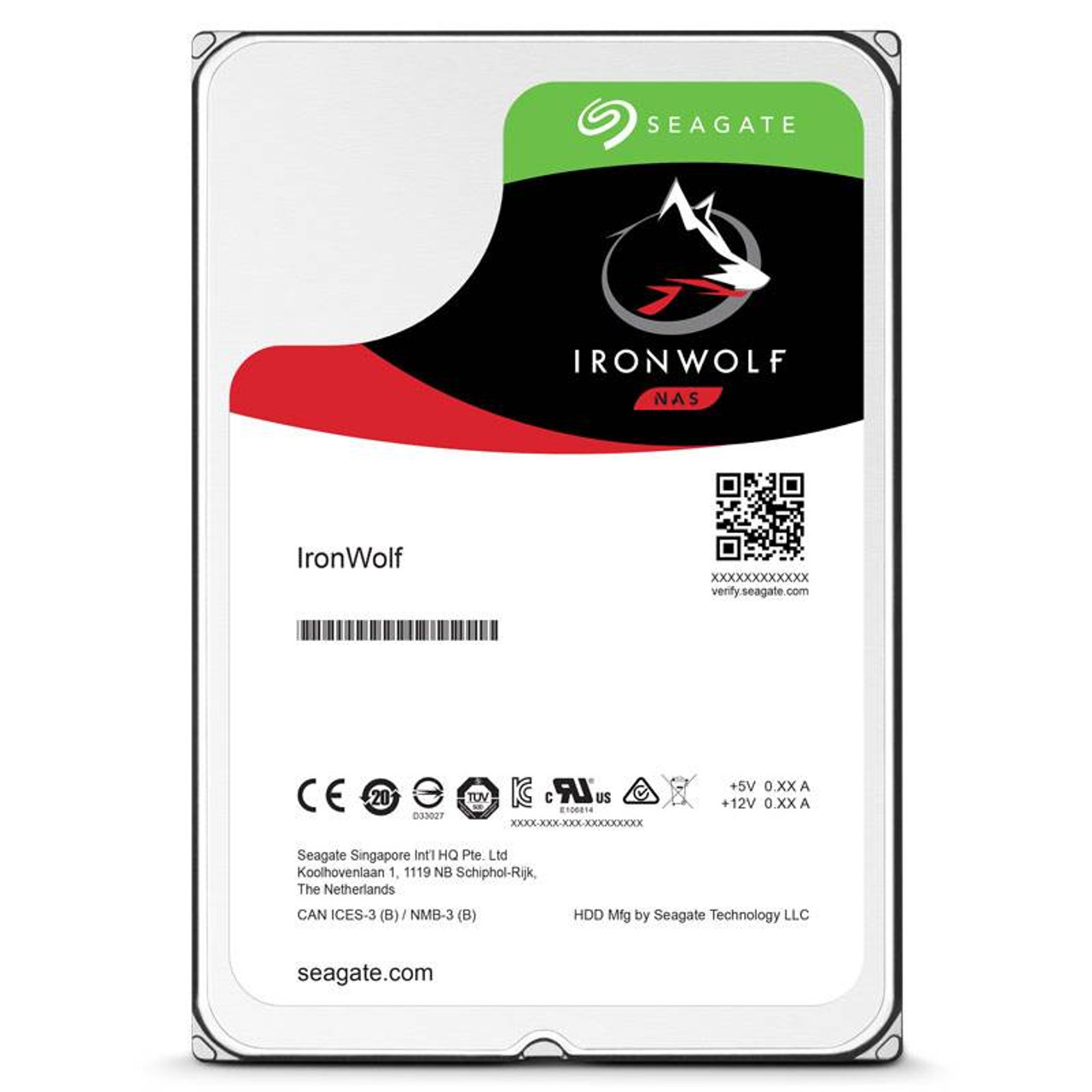 Product image for Seagate 1TB IronWolf NAS Hard Drive | CX Computer Superstore