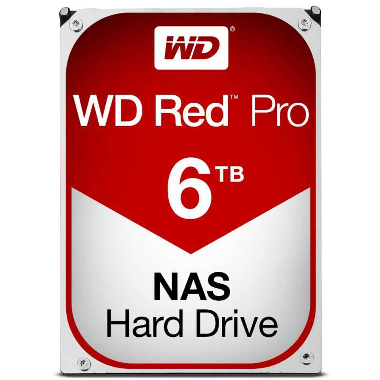 Product image for Western Digital WD 6TB Red Pro SATA3 NAS Hard Drive | CX Computer Superstore