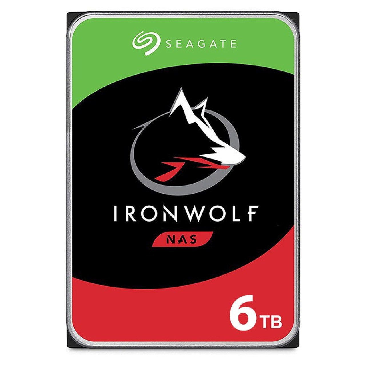 Image for Seagate ST6000VN001 6TB IronWolf 3.5in 5400RPM SATA NAS Hard Drive CX Computer Superstore