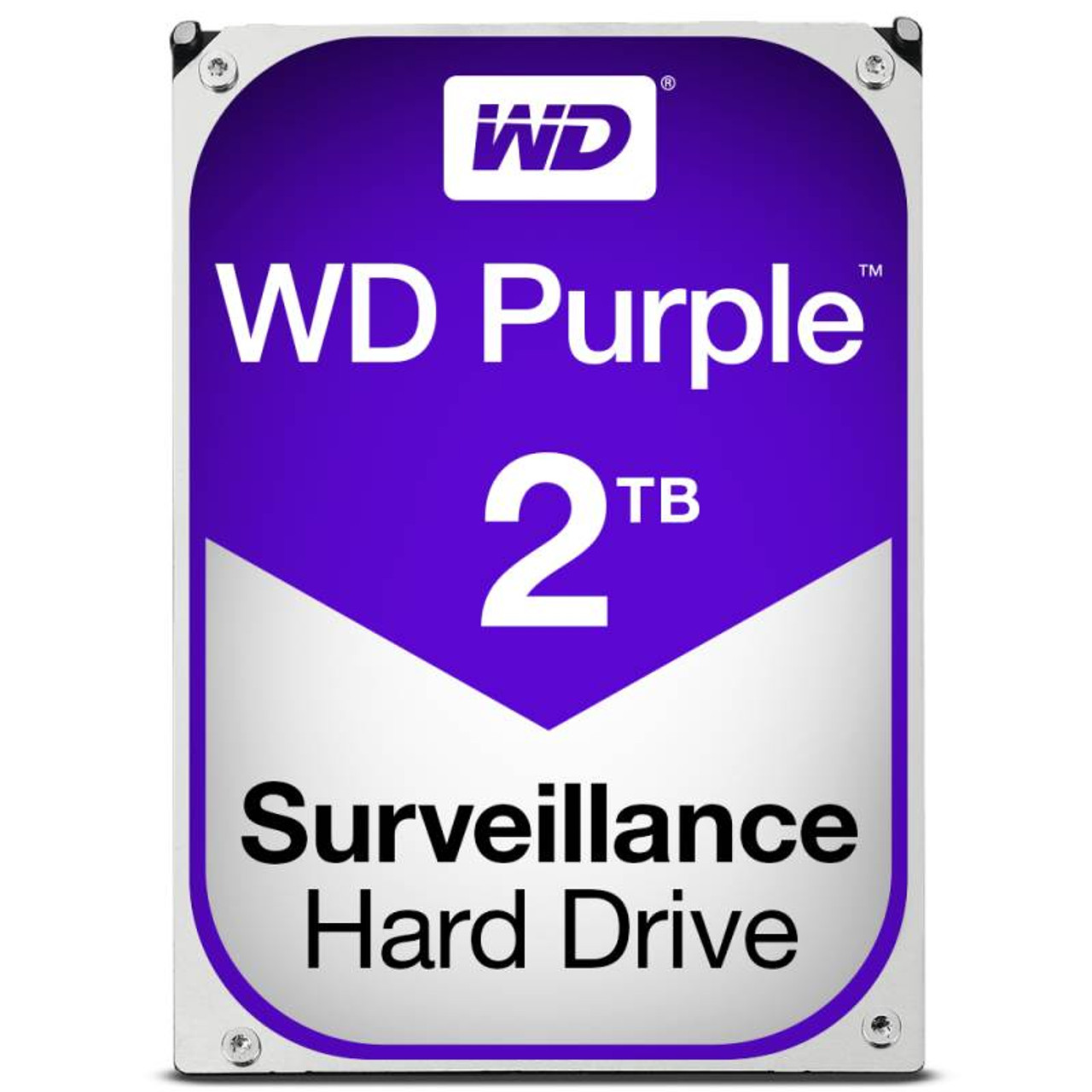 Product image for Western Digital WD Purple 2TB Surveillance Hard Drive | CX Computer Superstore