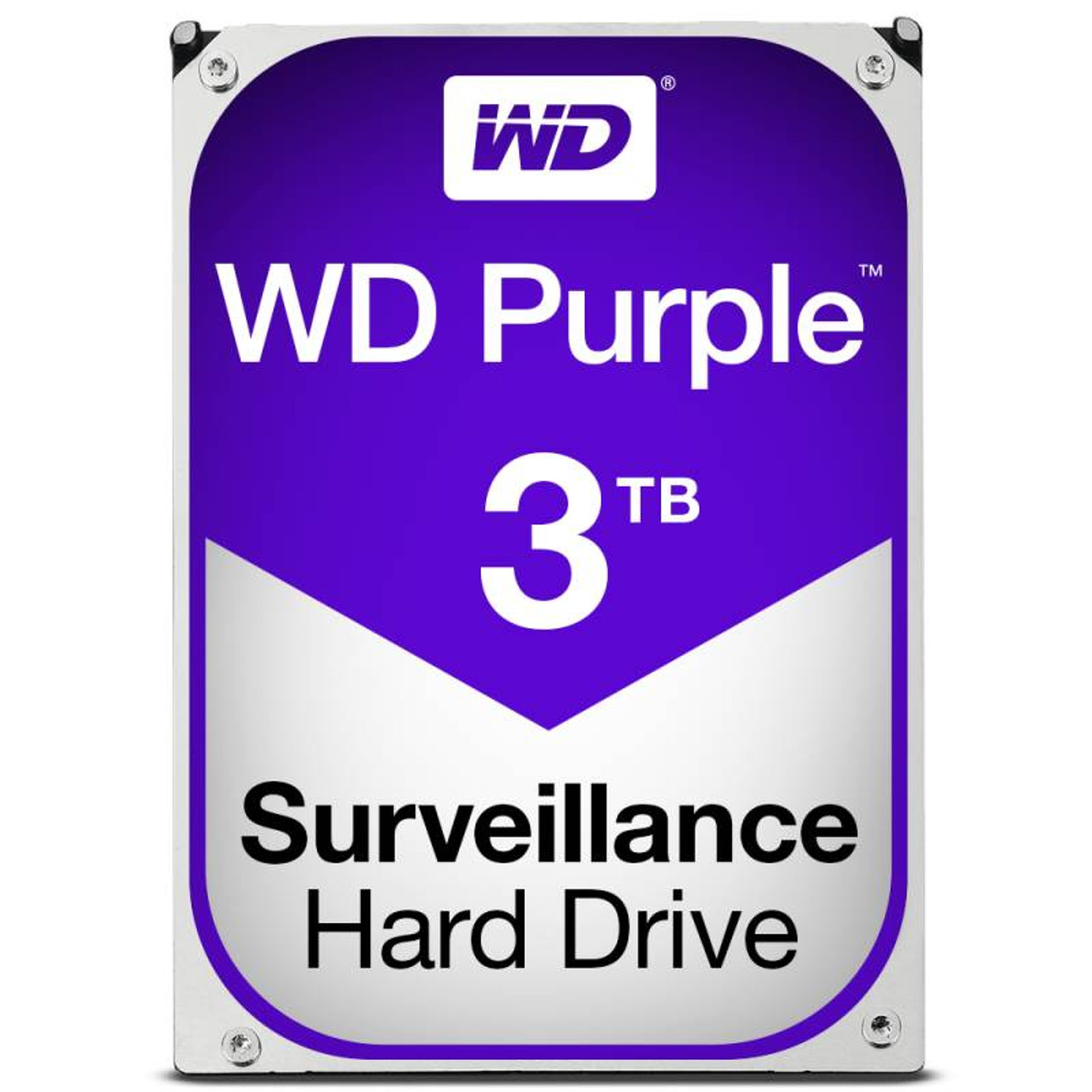 Product image for Western Digital WD Purple 3TB Surveillance Hard Drive   CX Computer Superstore