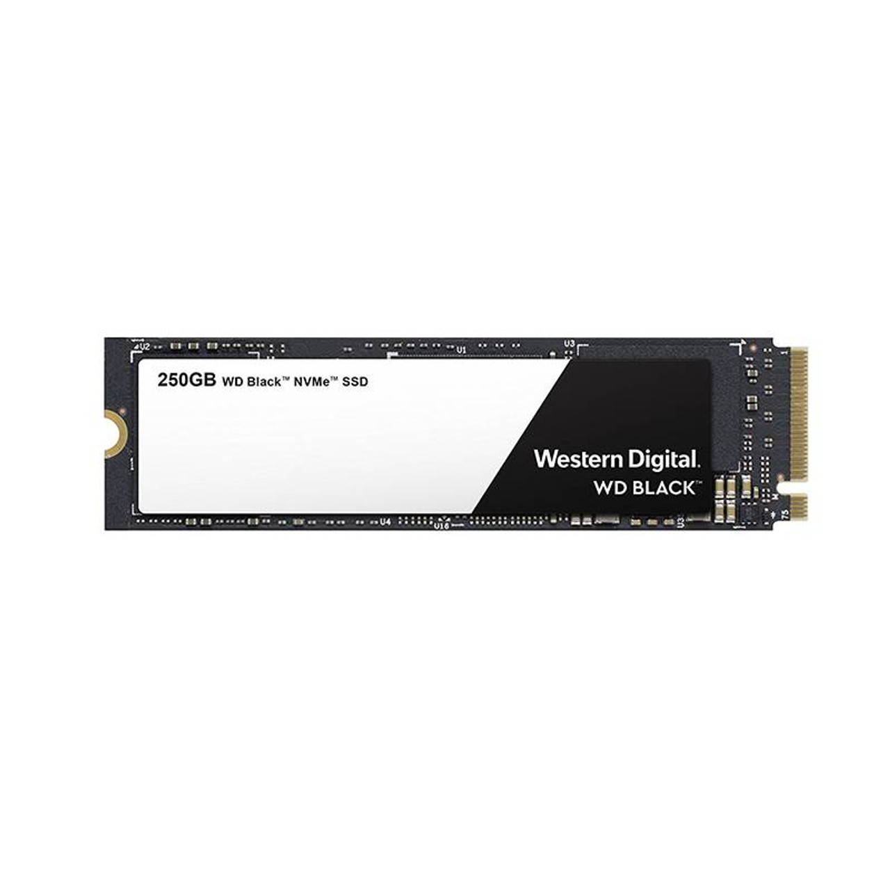 Product image for Western Digital WD Black NVMe SSD 250GB M.2 | CX Computer Superstore