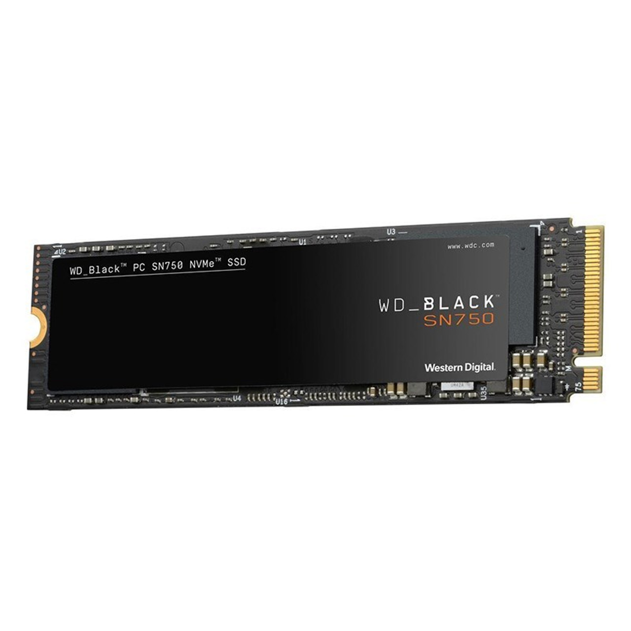 Image for Western Digital WD Black SN750 2TB NVMe M.2 (2280) PCIe 3x4 3D NAND SSD - without heatsink CX Computer Superstore