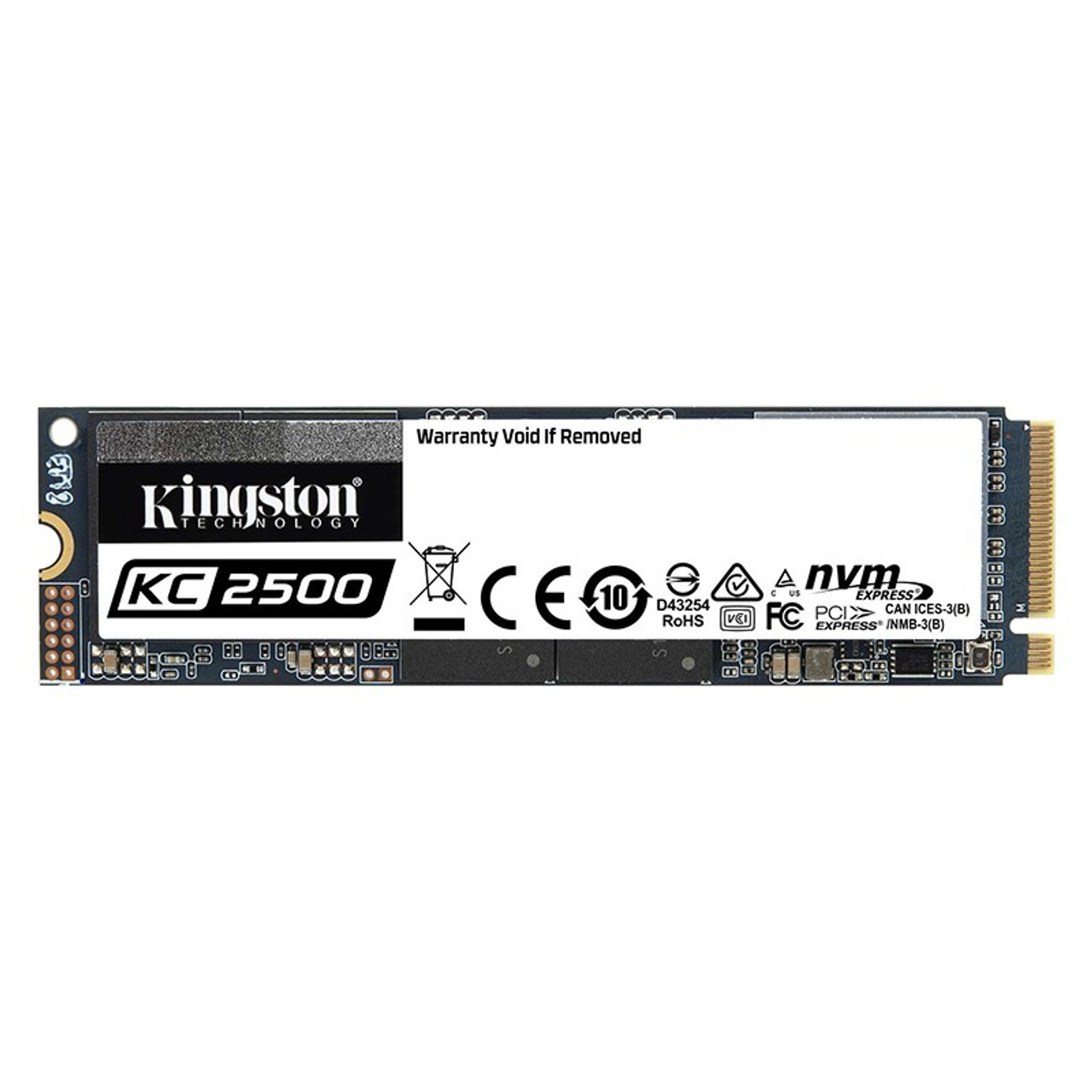 Image for Kingston KC2500 500GB M.2 (2280) PCIe NVMe SSD CX Computer Superstore