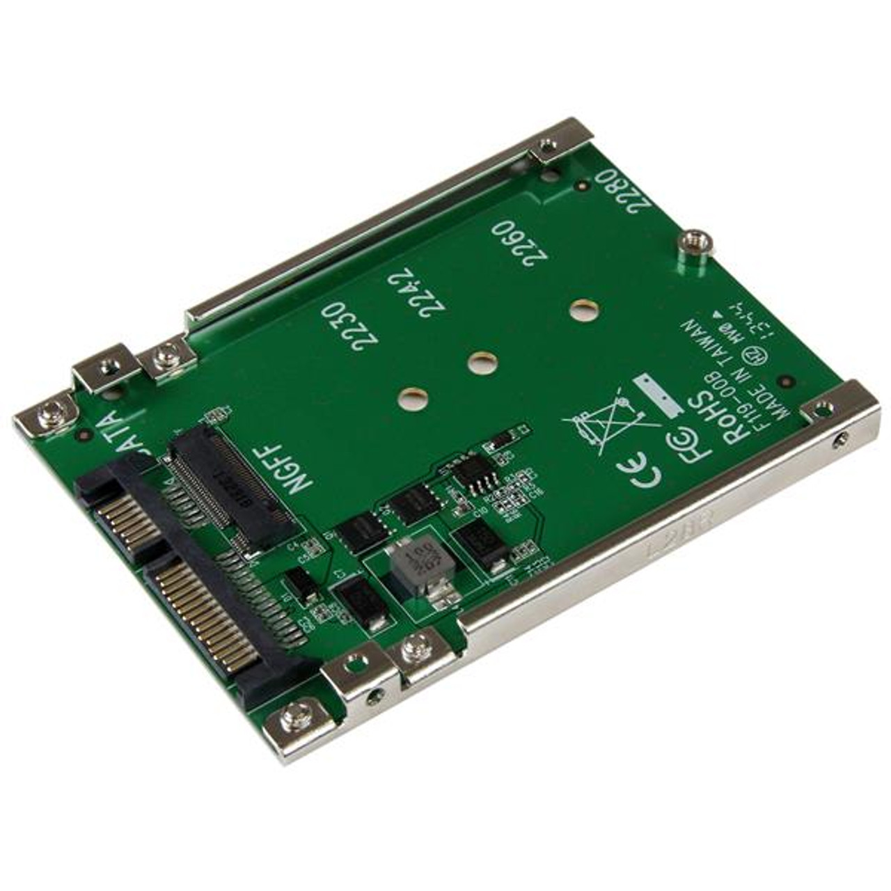 Image for StarTech M.2 SSD to 2.5in SATA Adapter - M.2 SSD to SATA Converter CX Computer Superstore