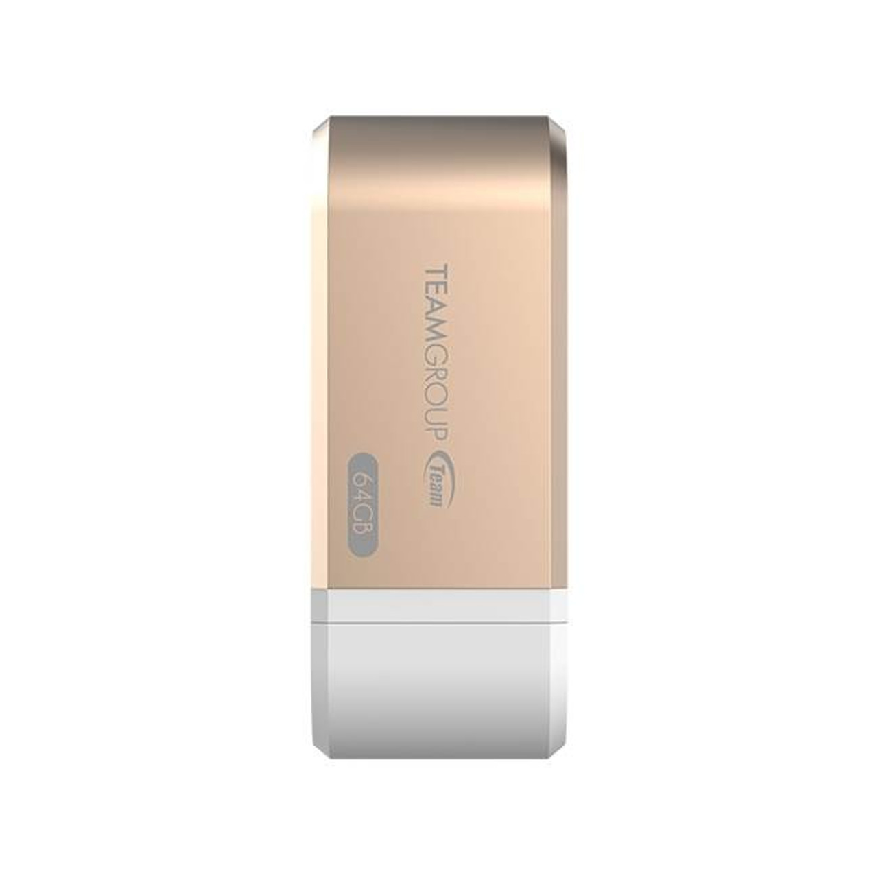 Image for Team MoStash WG02 iOS 64GB Flash Drive Apple Expansion OTG - Gold - TWG02CGD01 CX Computer Superstore