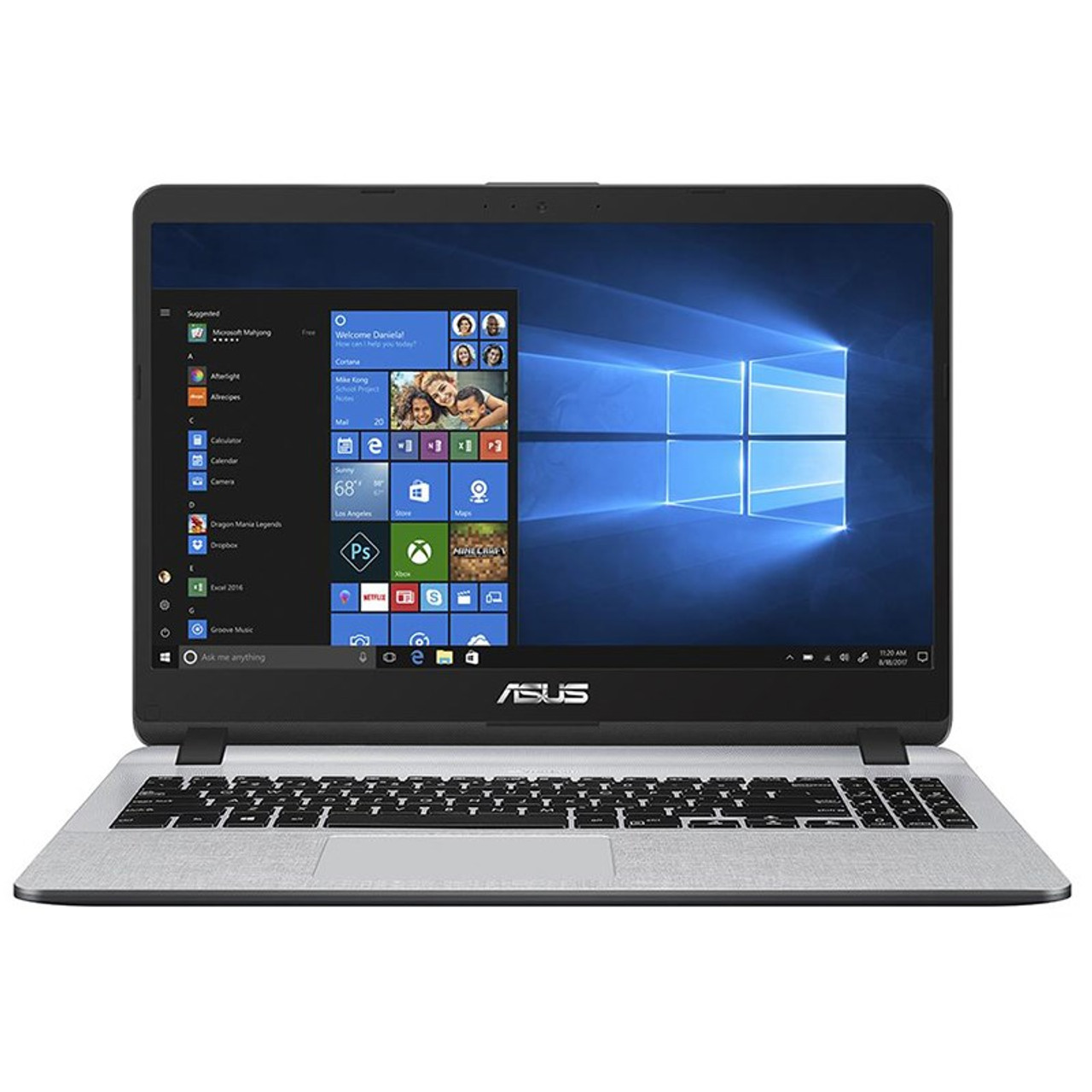 Image for Asus X507UA 15.6in Notebook i5-8250U 8GB 256GB SSD Win10 - Grey CX Computer Superstore