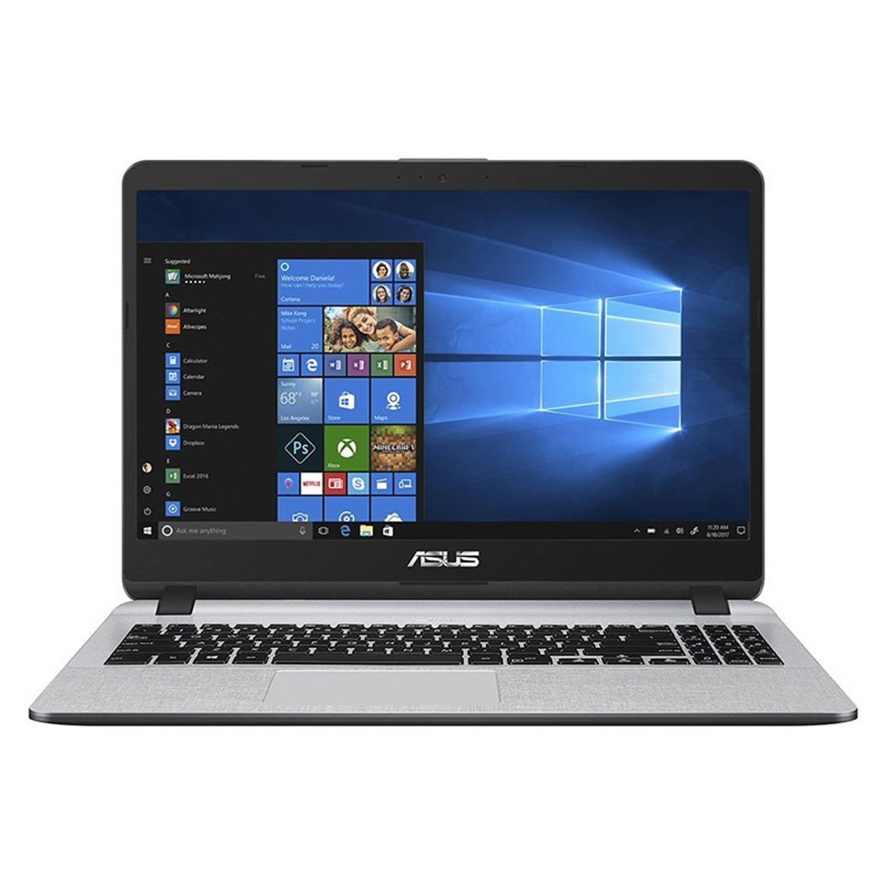 Image for Asus X507UA 15.6in Notebook i7-8550U 8GB 512GB SSD Win10H - Star Gray CX Computer Superstore