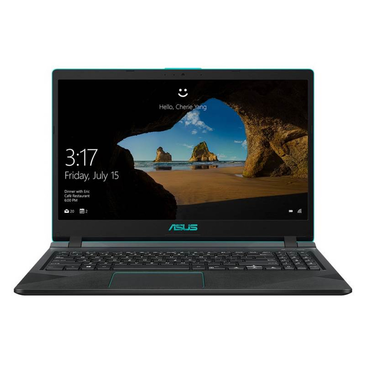 Image for Asus X560UD 15.6in Notebook i7-8550U 16GB 128GB+1TB GTX1050 Win10 Home CX Computer Superstore