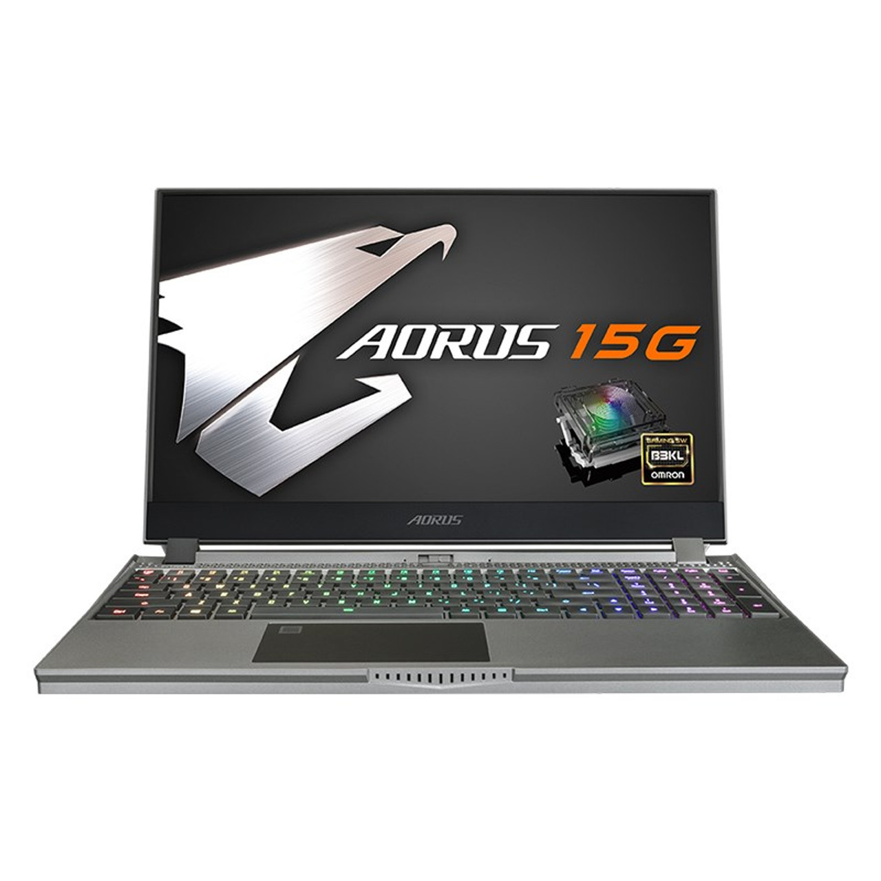 Image for Gigabyte AORUS 15G 15.6in 240Hz Gaming Laptop i7-10875H 16GB 512GB RTX2080S W10P CX Computer Superstore