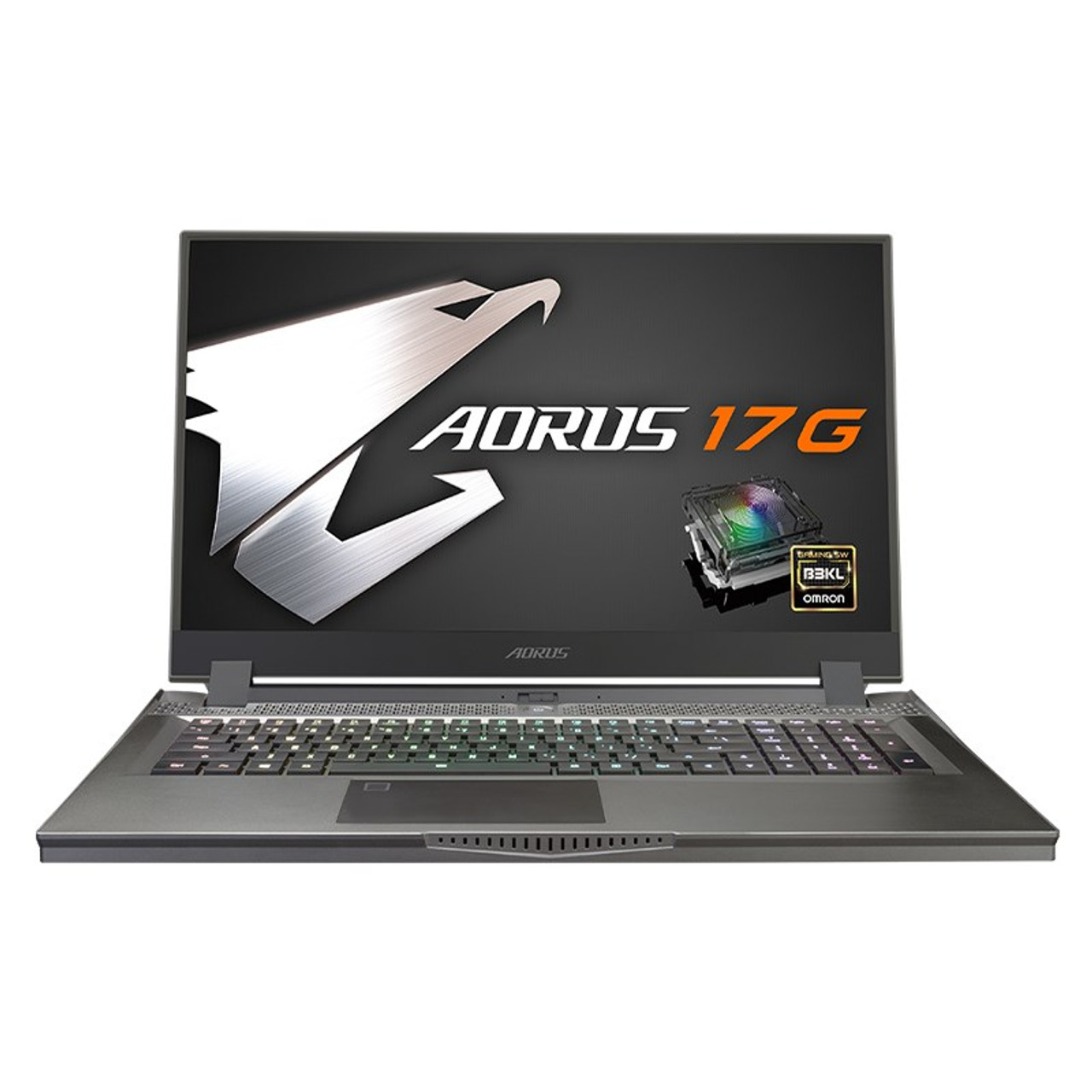 Image for Gigabyte AORUS 17G 17.3in 240Hz Gaming Laptop i7-10875H 16GB 512GB RTX2070S W10H CX Computer Superstore