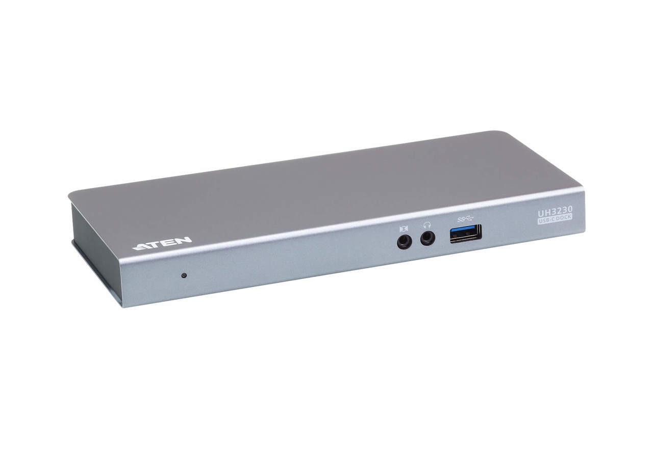 Product image for Aten USB-C Single-view Multiport Dock   CX Computer Superstore