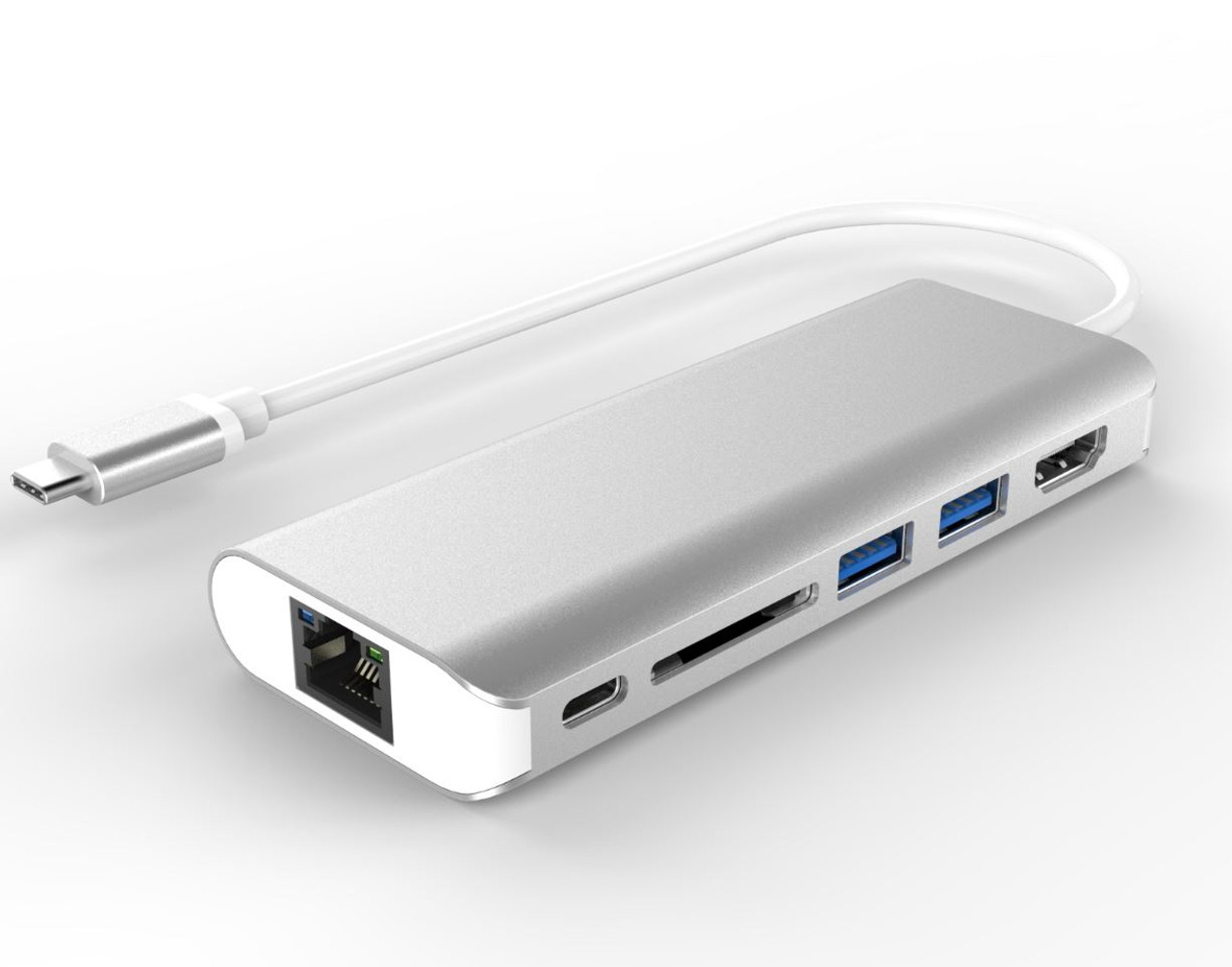 Product image for All-in-One Dock Thunderbolt USB-C 3.1 Type-C to HDMI+USB3.0+CardReader | CX Computer Superstore
