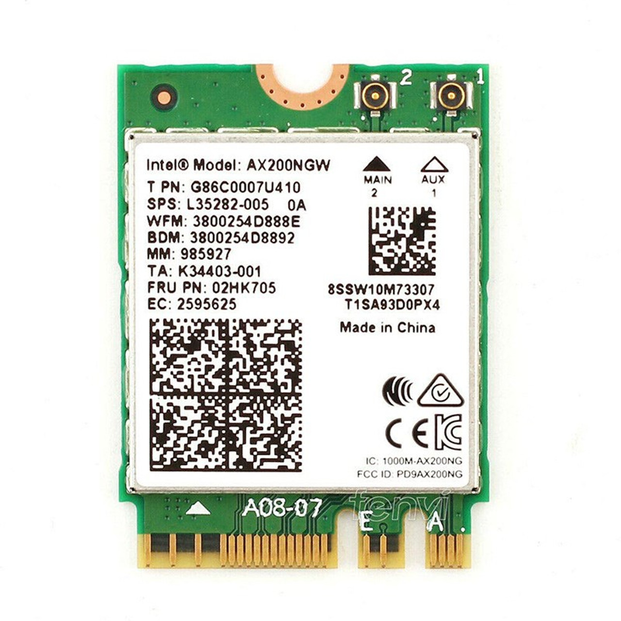 Image for Intel Wi-Fi 6 AX200 Dual-Band M.2 2230 Network Adapter with Bluetooth CX Computer Superstore