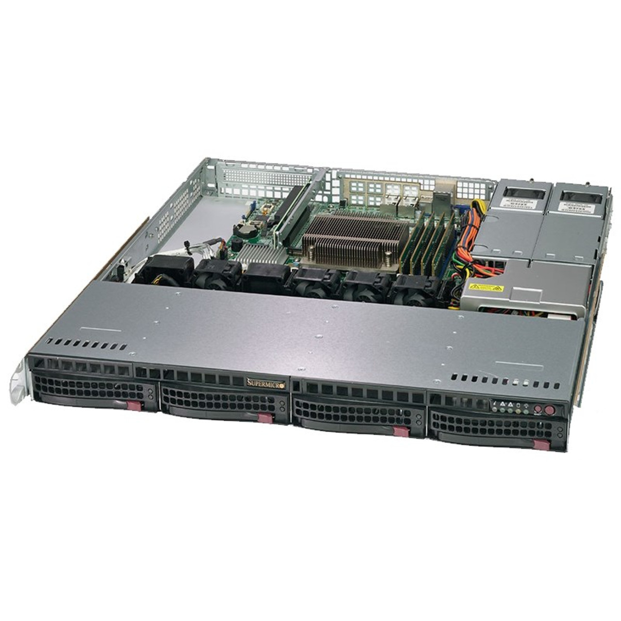 Image for SuperMicro SuperServer 5019C-M Barebone CPU (0/1) RAM (0/4) HDD (0/4) CX Computer Superstore