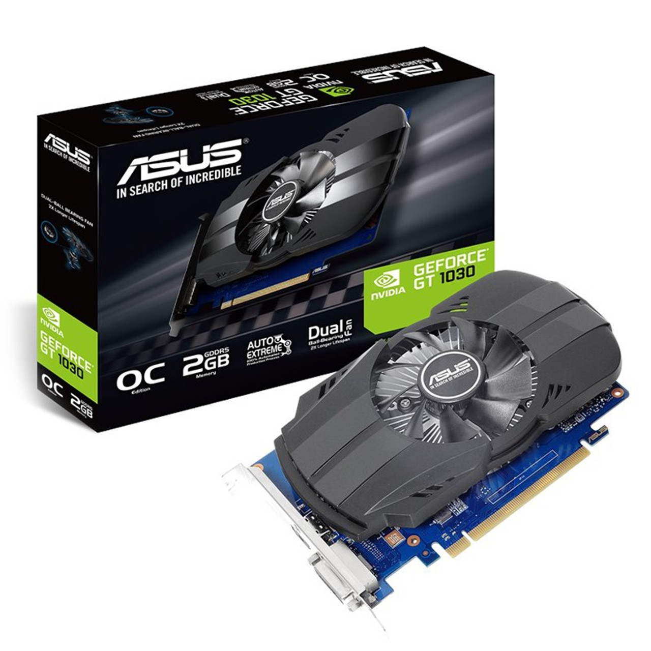Image for Asus GeForce GT 1030 Pheonix OC 2GB Video Card CX Computer Superstore
