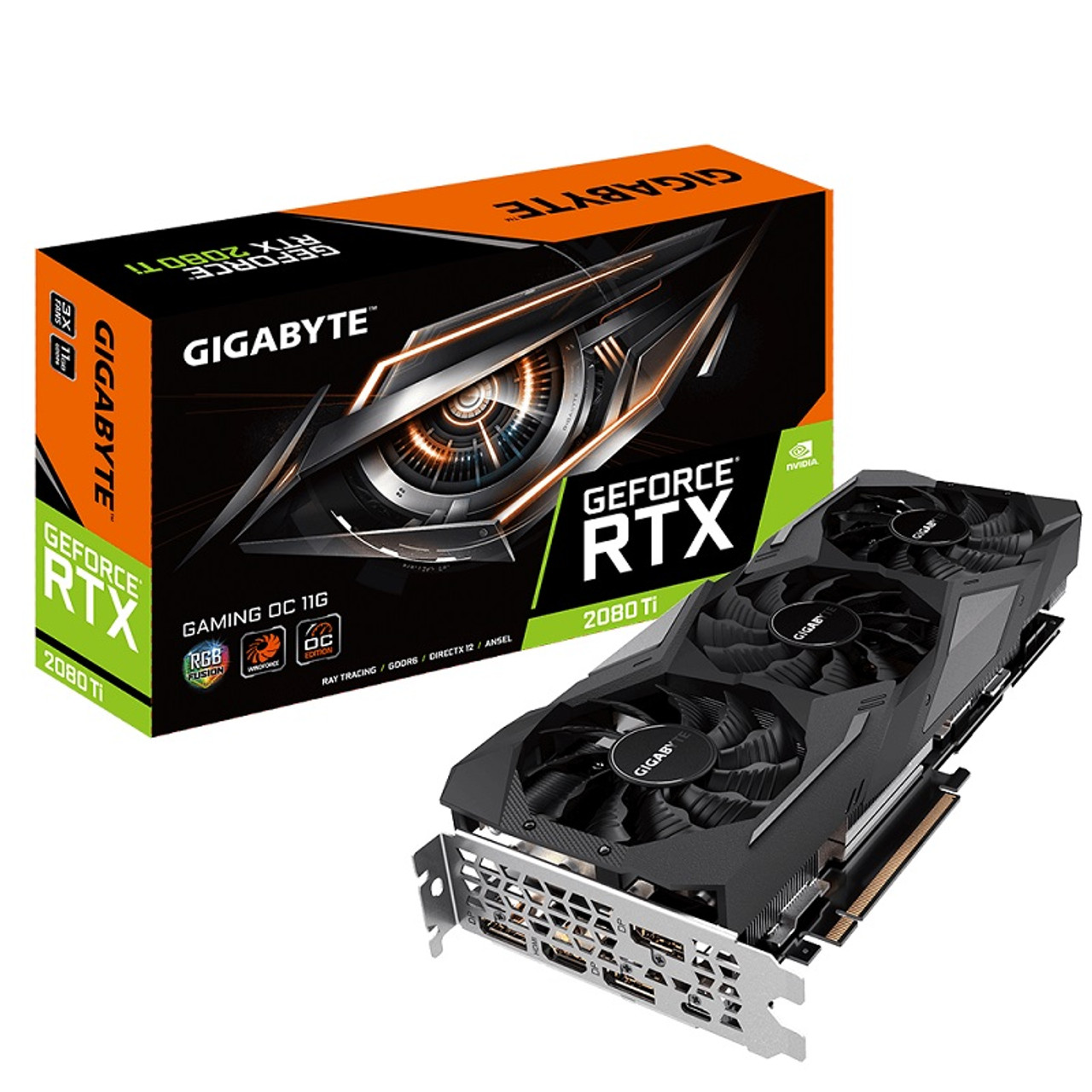 Product image for Gigabyte RTX 2080Ti GAMING OC 11GB   CX Computer Superstore