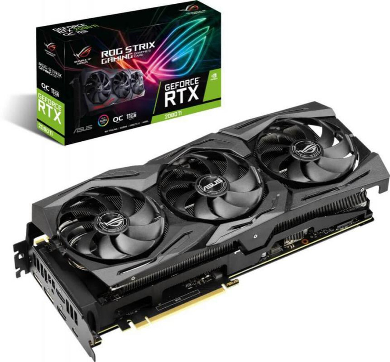 Product image for Asus ROG Strix RTX 2080 Ti OC Edition 11GB | CX Computer Superstore