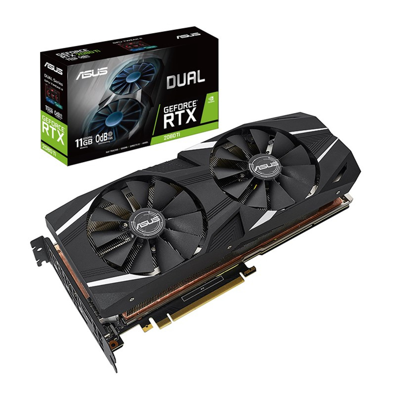 Image for Asus GeForce RTX 2080 Ti Dual 11GB Video Card CX Computer Superstore