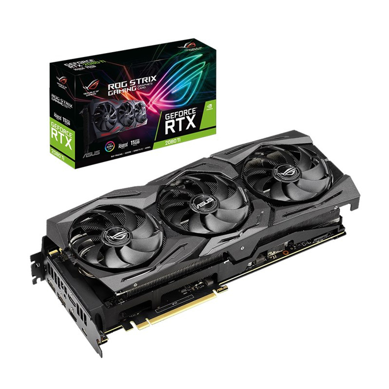 Image for Asus GeForce RTX 2080 Ti ROG Strix Advanced 11GB Video Card CX Computer Superstore
