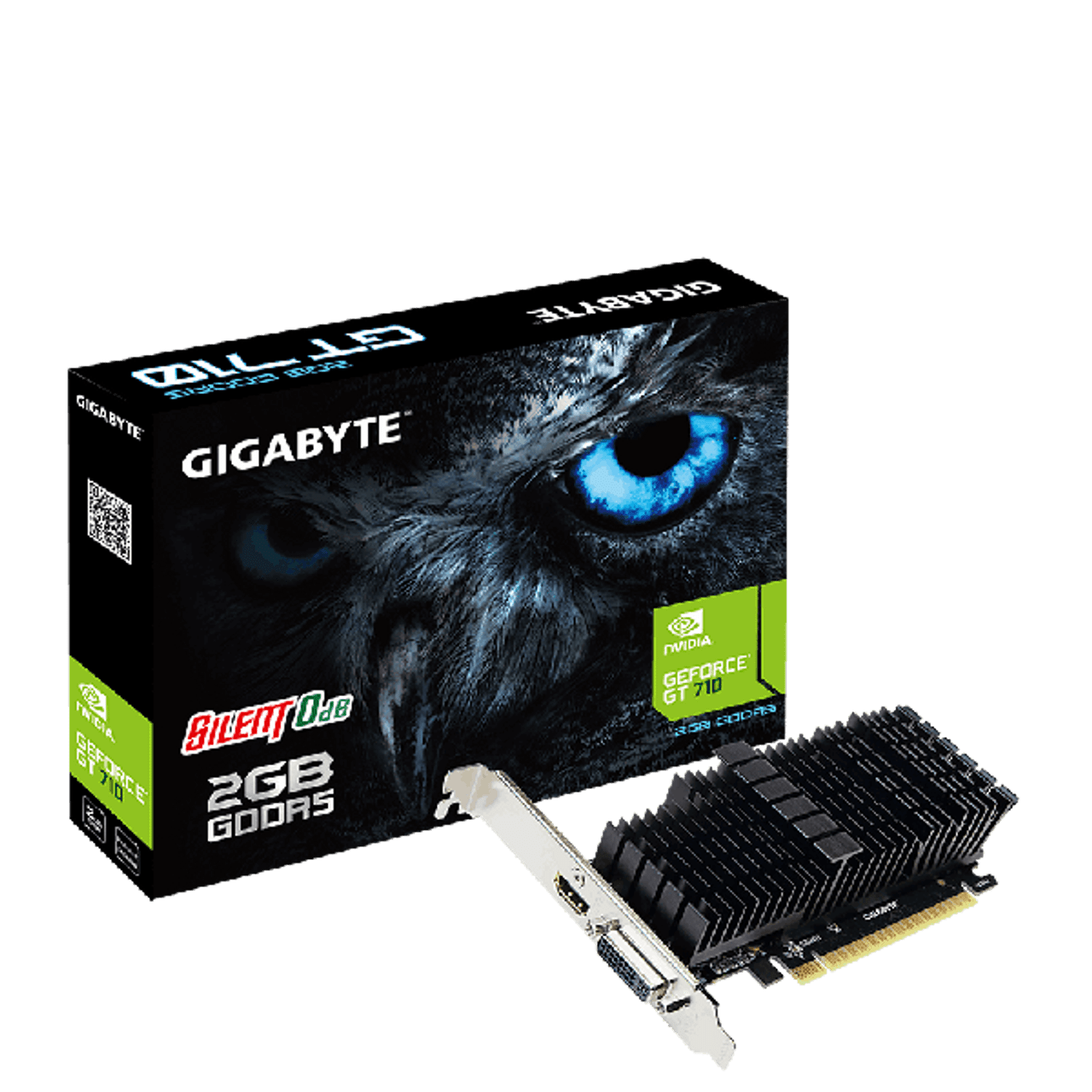 Product image for Gigabyte GeForce GT 710 Passive 2GB | CX Computer Superstore
