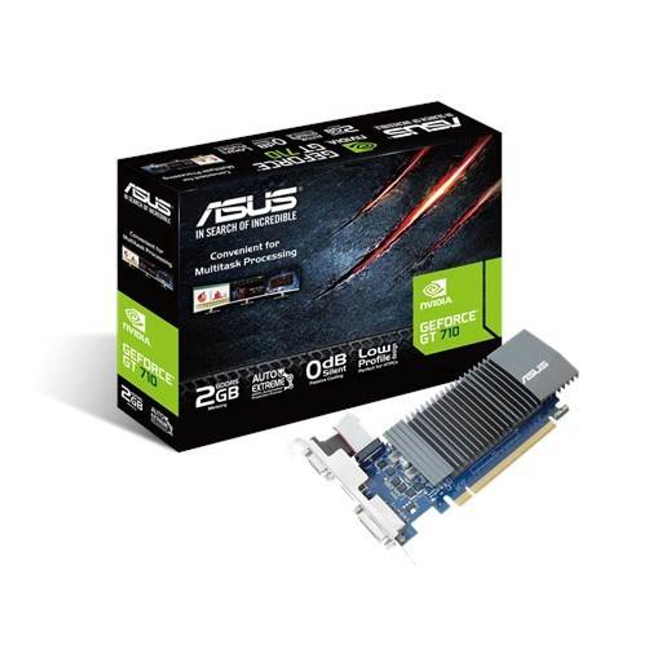 Image for Asus GeForce GT710 2GB GDDR5 Video Card CX Computer Superstore