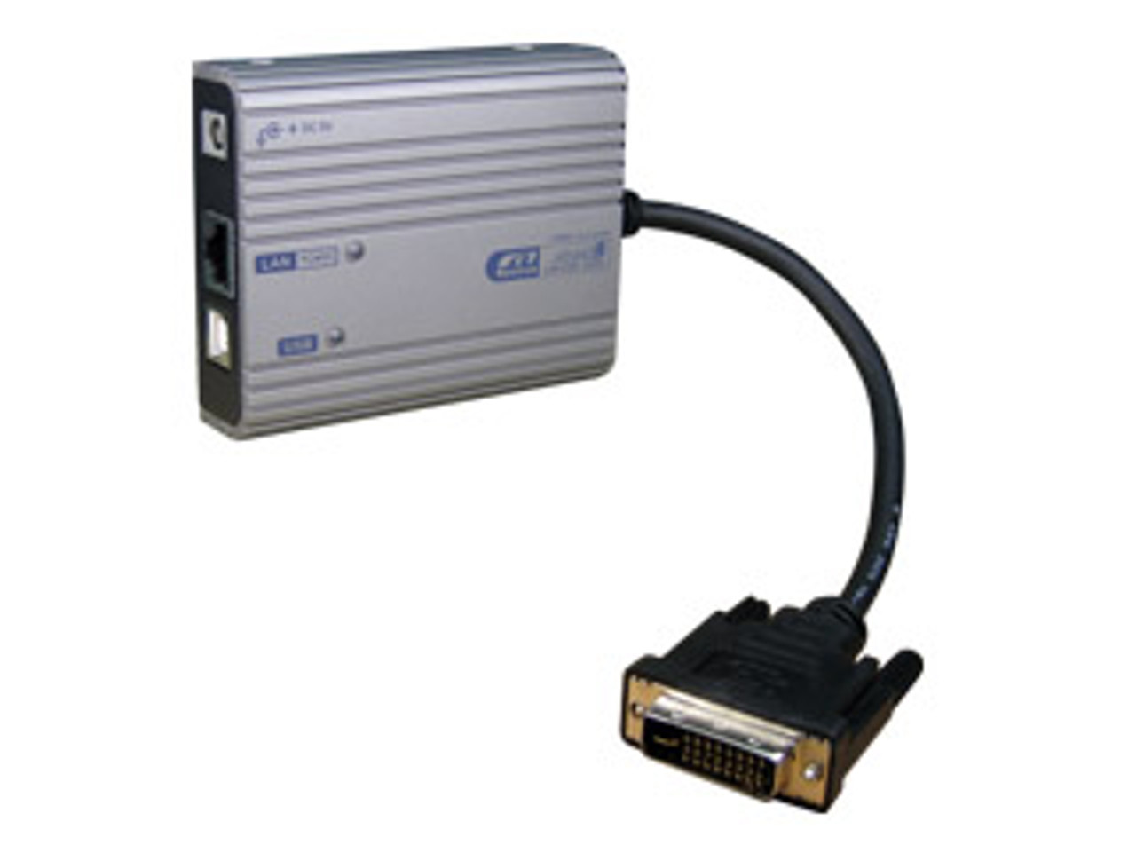 Product image for Rextron DVI Over LAN Supports 1080P   CX Computer Superstore