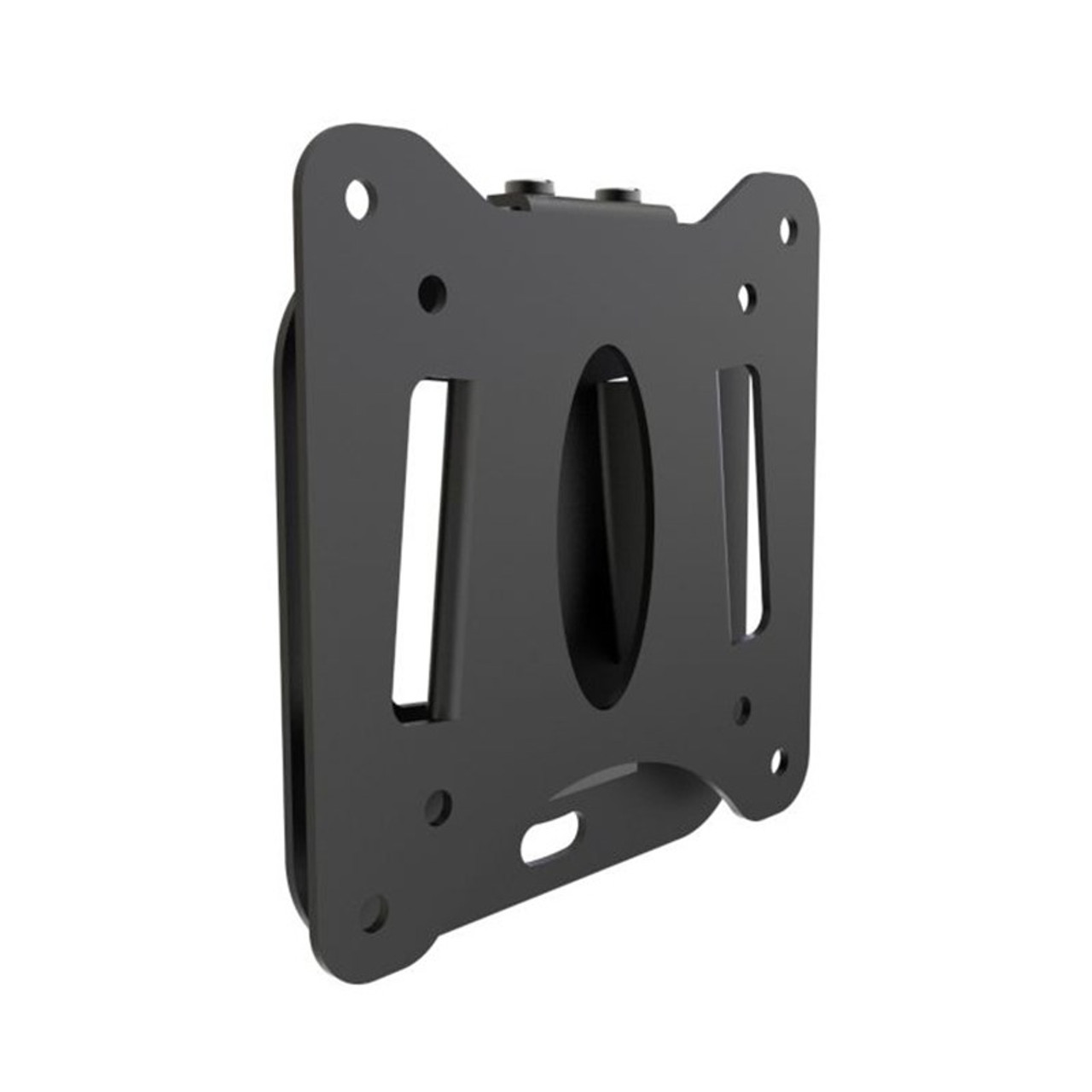 Image for Atdec AD-30100-WF Low Profile Fixed Wall Mount - Black CX Computer Superstore