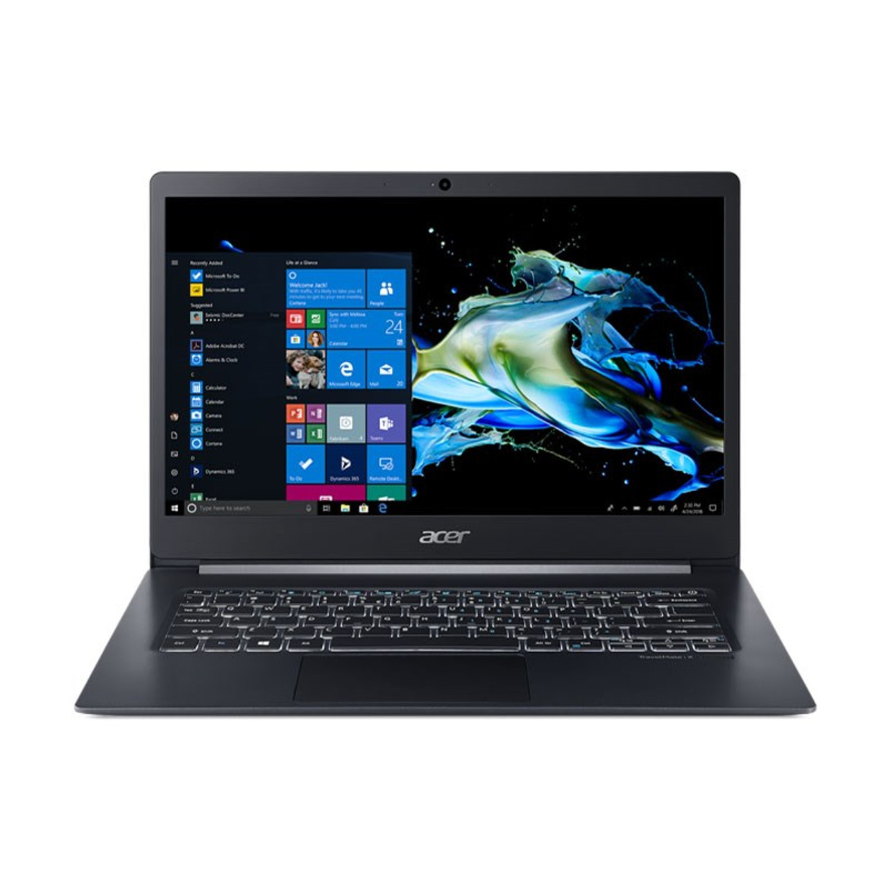 Image for Acer TravelMate X514-51T 14in Laptop i5-8265U 16GB 512GB SSD Win10 Pro Touch CX Computer Superstore