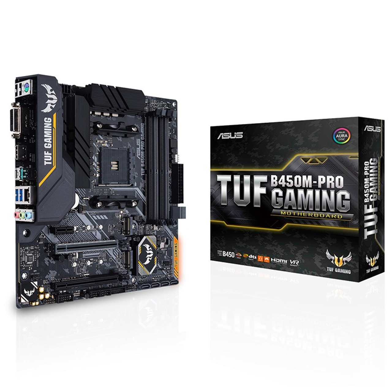Image for Asus TUF B450M-PRO GAMING AM4 Micro-ATX Motherboard CX Computer Superstore