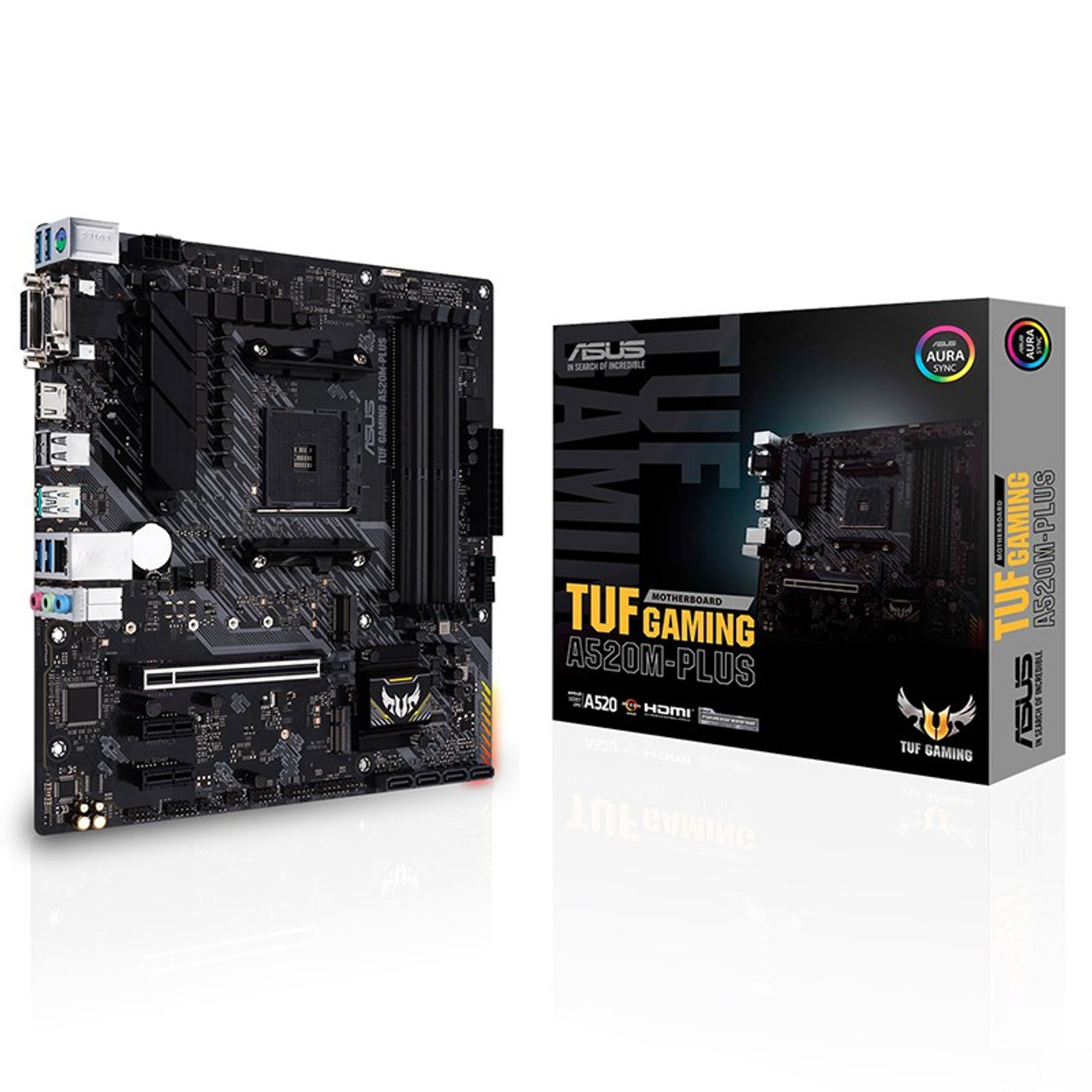 Image for Asus TUF GAMING A520M-PLUS AM4 Micro-ATX Motherboard CX Computer Superstore