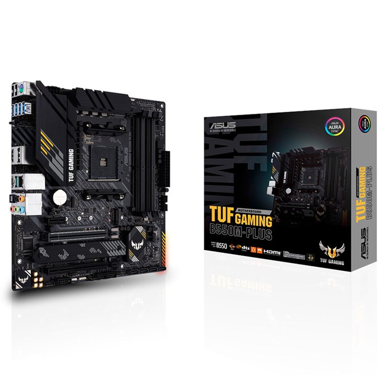 Image for Asus TUF GAMING B550M-PLUS AM4 Micro-ATX Motherboard CX Computer Superstore