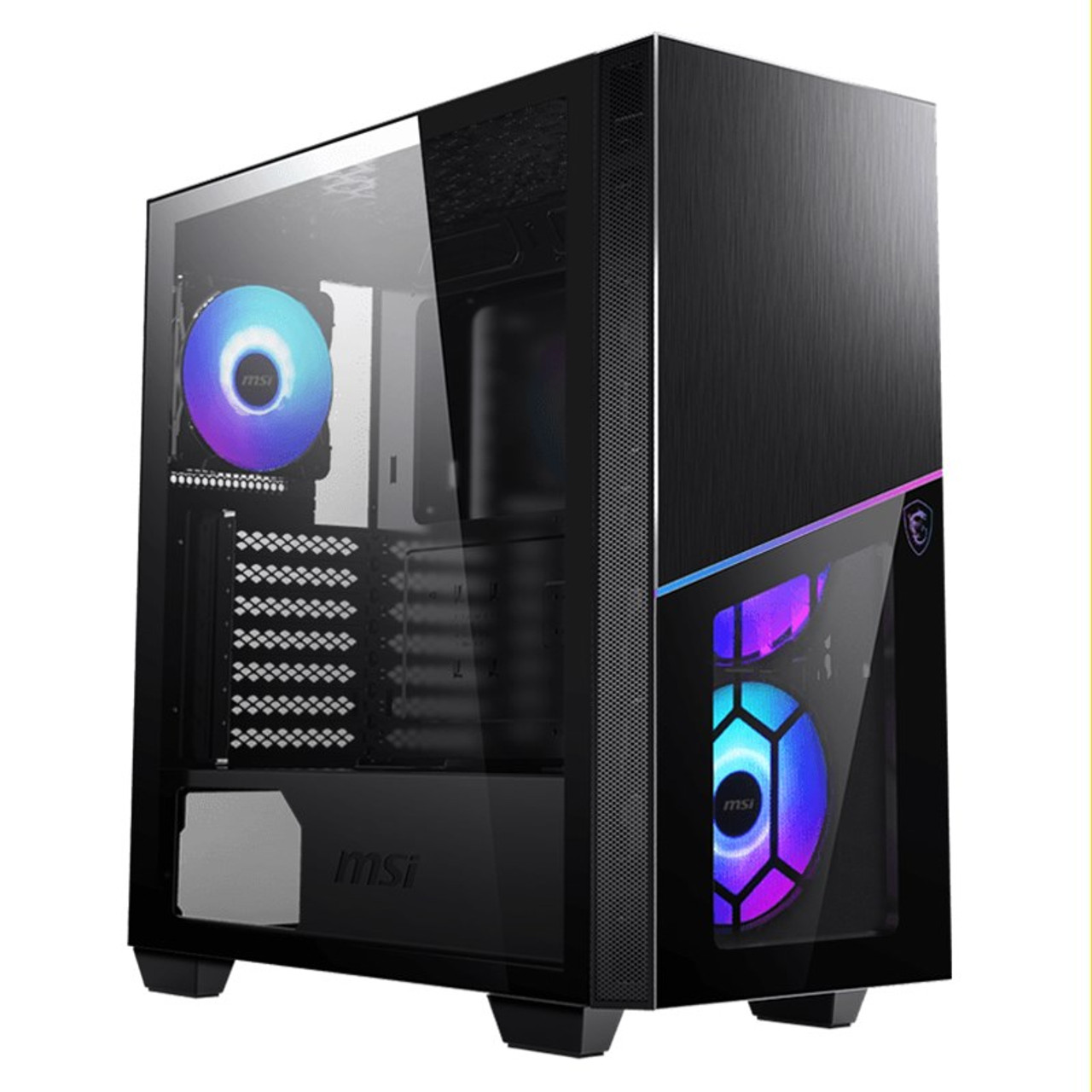 Image for MSI MPG SEKIRA 100R Tempered Glass Mid-Tower E-ATX Case CX Computer Superstore