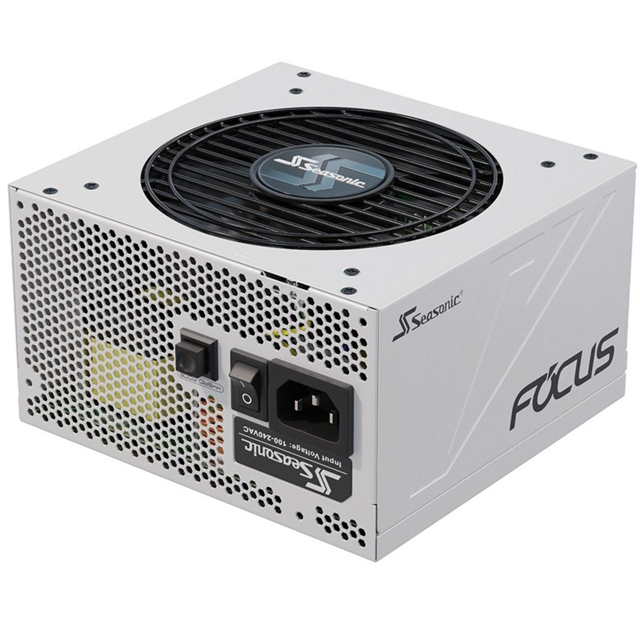Image for Seasonic SSR-750FX WHITE Focus GX 750W 80+ Gold Fully Modular Power Supply CX Computer Superstore