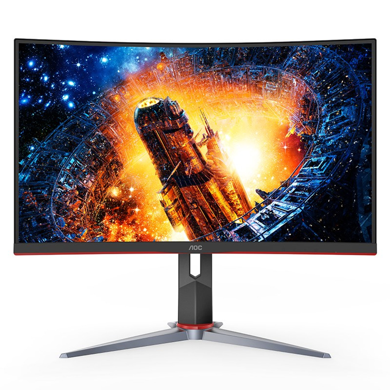 Image for AOC C24G2 23.6in 165Hz Full HD 1ms Curved FreeSync VA Gaming Monitor CX Computer Superstore