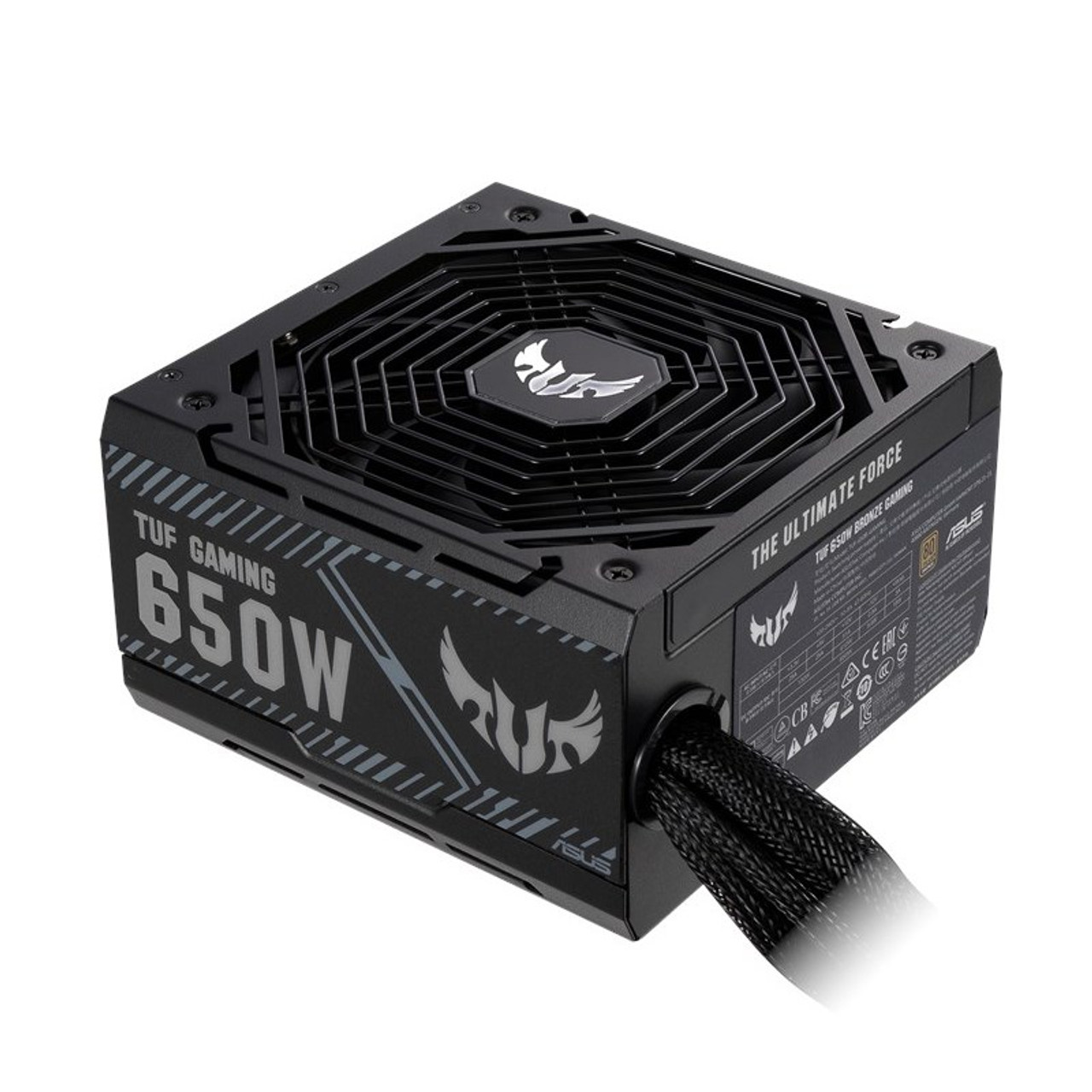 Image for Asus TUF Gaming 650W 80+ Bronze Non Modular Power Supply CX Computer Superstore